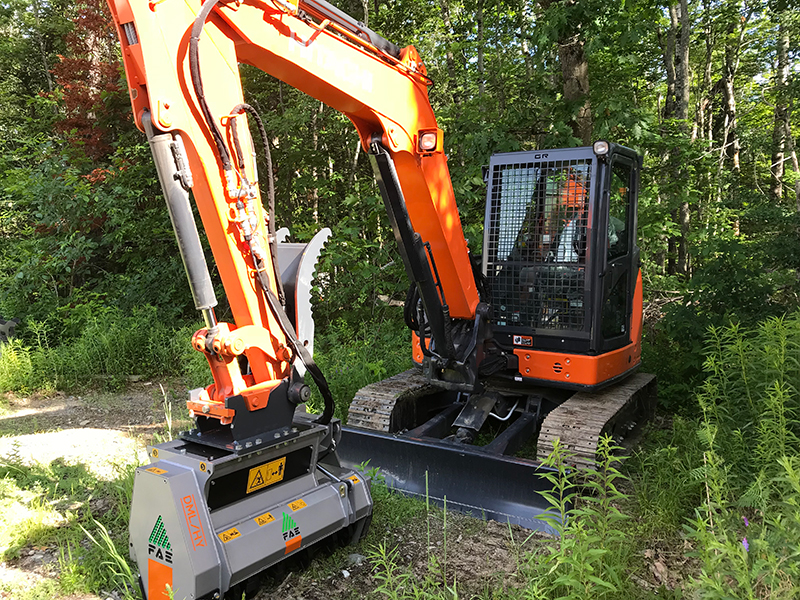 Mulching/Grinding Operations - Madden Sustainable Forestry